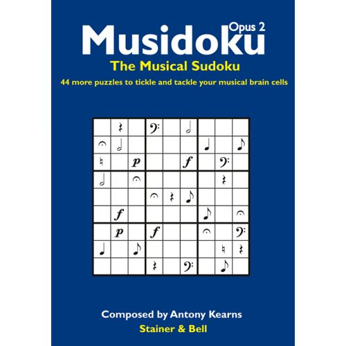 STAINER AND BELL MUSIDOKU OPUS 2 - THE MUSICAL SUDOKU