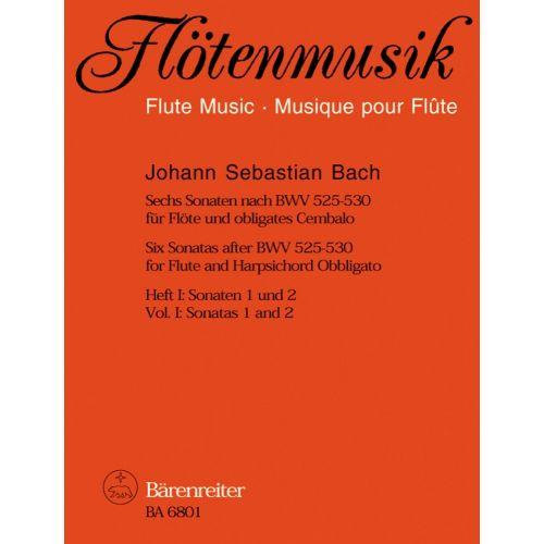 BARENREITER BACH J.S. SECHS SONATEN NACH BWV 525-530 HEFT I (SONATEN 1 UND 2)