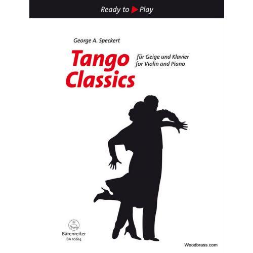 BARENREITER TANGO CLASSICS FOR VIOLIN & PIANO