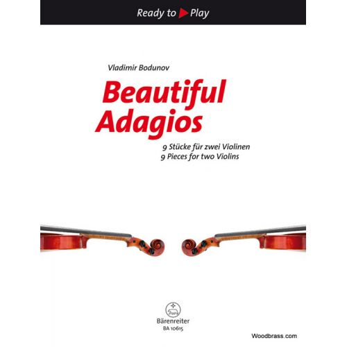BARENREITER BEAUTIFUL ADAGIOS - 2 VIOLONS