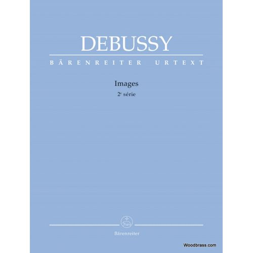 BARENREITER DEBUSSY C. - IMAGES 2ème Série