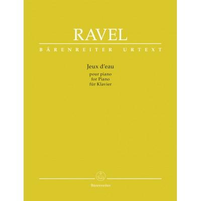 BARENREITER RAVEL JEUX D'EAU - PARA PIANO