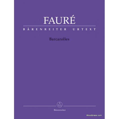 BARENREITER FAURE G. - BARCAROLLES