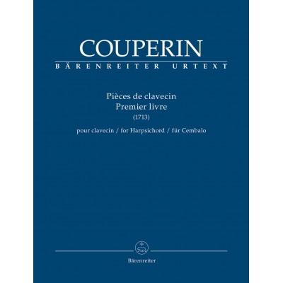 BARENREITER COUPERIN FRANCOIS - PIECES DE CLAVECIN 1er LIVRE