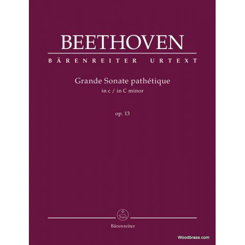 BARENREITER BEETHOVEN L.V. - GRANDE SONATE PATHETIQUE IN C MINOR OP.13 - PIANO