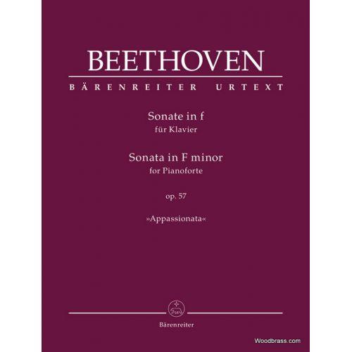 BARENREITER BEETHOVEN L.V. - SONATE IN F OP.57