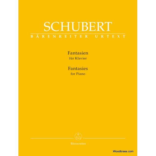 BARENREITER SCHUBERT FRANZ - FANTASIES - PIANO