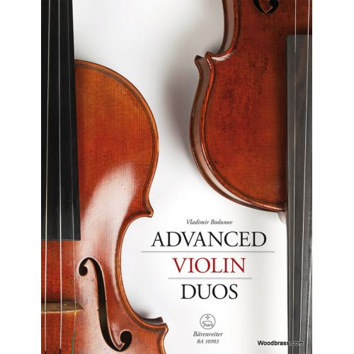 BARENREITER BODUNOV V. - ADVANCED VIOLIN DUOS