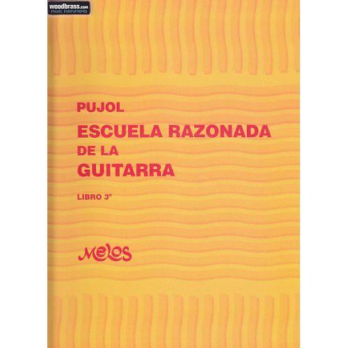 RICORDI PUJOL E. - ESCUELA RAZONADA DE LA GUITARRA VOL. 3