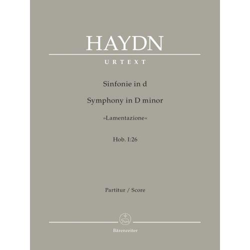 BARENREITER HAYDN J. - SYMPHONY IN D MINOR