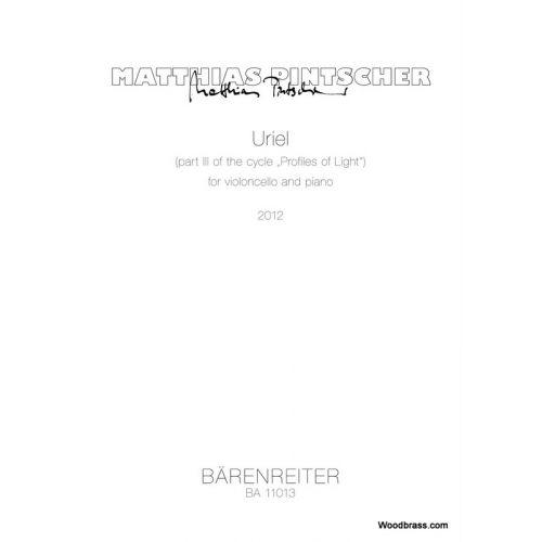 BARENREITER PINTSCHER MATTHIAS - URIEL FOR VIOLONCELLO & PIANO