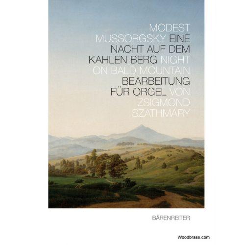 BARENREITER MUSSORGSKY M. - NIGHT ON BALD MOUNTAIN - ARRANGED FOR ORGAN