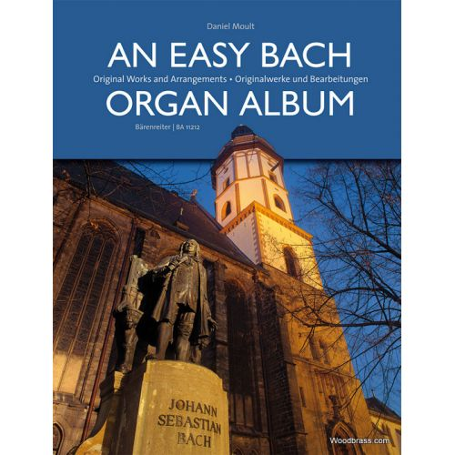 BARENREITER MOULT D. - AN EASY BACH ORGAN ALBUM