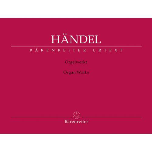 BARENREITER HANDEL G.F. - ORGAN WORKS