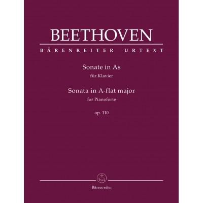 BARENREITER BEETHOVEN L.V. - SONATE IN A-FLAT MAJOR OP.110 - PIANO