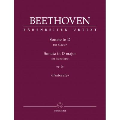 BARENREITER BEETHOVEN L.V. - SONATA D MAJOR OP.28