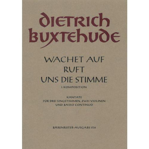 BARENREITER BUXTEHUDE DIETRICH - WACHET AUF, RUFT UNS DIE STIMME BUXWV 101, I KOMPOSITION