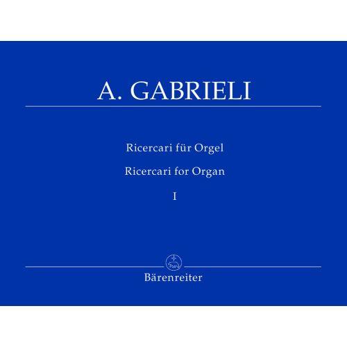 BARENREITER GABRIELI A. - RICERCARI FUR ORGEL 1