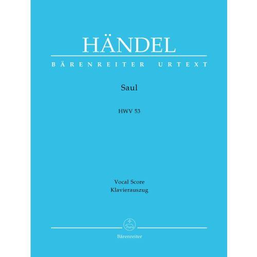 BARENREITER HAENDEL G.F. - SAUL HWV 53 - VOCAL SCORE