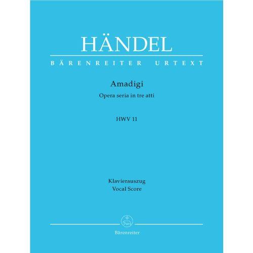 BARENREITER HAENDEL G.F. - AMADIGI HWV 11 - VOCAL SCORE