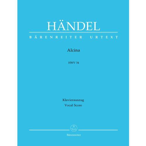 BARENREITER HAENDEL G.F. - ALCINA HWV 34 - VOCAL SCORE