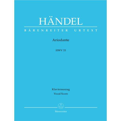 BARENREITER HAENDEL G.F. - ARIODANTE HWV 33 - VOCAL SCORE