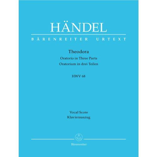 BARENREITER HAENDEL G.F. - THEODORA HWV 68 - VOCAL SCORE