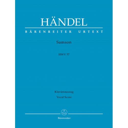 BARENREITER HAENDEL - SAMSON HWV 57 - VOCAL SCORE