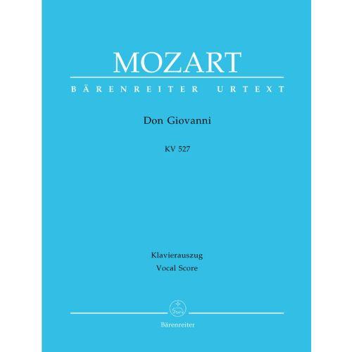 BARENREITER MOZART W.A. - DON GIOVANNI KV 527 - VOCAL SCORE