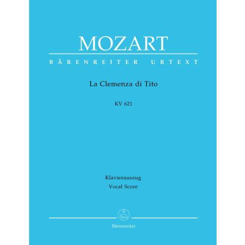 BARENREITER MOZART W.A. - LA CLEMENZA DI TITO KV 621 - VOCAL SCORE