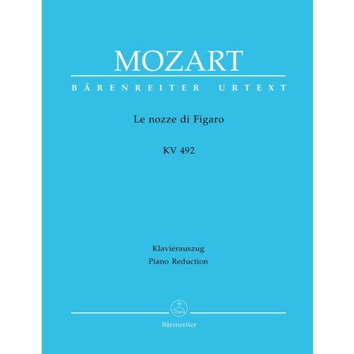 BARENREITER MOZART W.A. - LE NOZZE DI FIGARO KV 492 - VOCAL SCORE