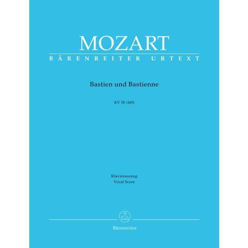 BARENREITER MOZART W.A. - BASTIEN AND BASTIENNE KV 50 (46B) - VOCAL SCORE