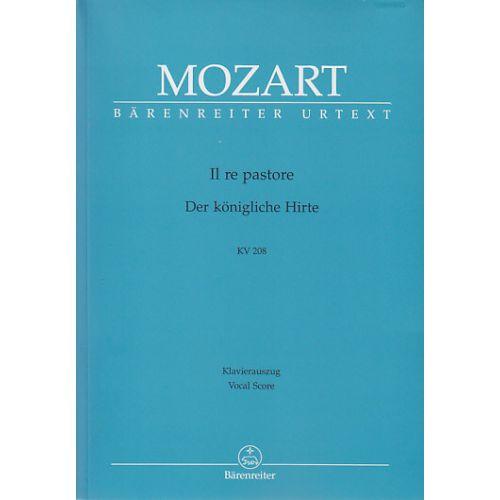BARENREITER MOZART W. A. - IL RE PASTORE - CHANT/PIANO