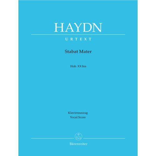 BARENREITER HAYDN J. - STABAT MATER HOB.XXBIS - VOCAL SCORE