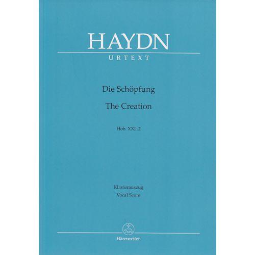 BARENREITER HAYDN J. - THE CREATION HOB. XXI:2 - VOCAL SCORE