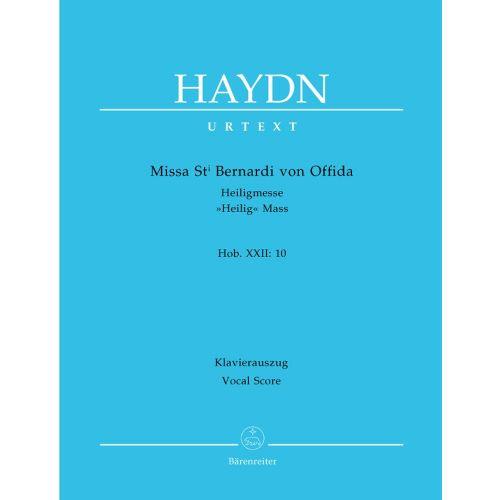 BARENREITER HAYDN J. - MISSA ST BERNARDI VON OFFIDA