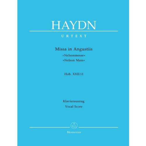 BARENREITER HAYDN J. - MISSA IN AUGUSTIIS NELSON MASS HOB.XXII:11 - VOCAL SCORE