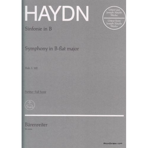 BARENREITER HAYDN J. - LONDONER SINFONIE NR. 10 B-DUR HOB. I:102 - CONDUCTEUR