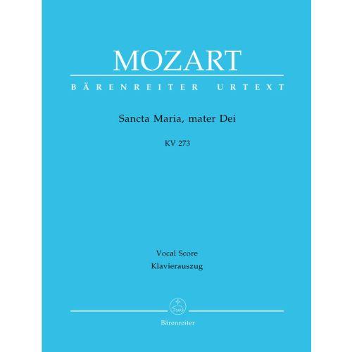 BARENREITER MOZART W.A. - SANCTA MARIA, MATER DEI KV 273 - VOCAL SCORE