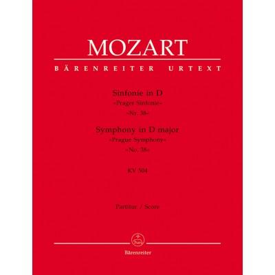BARENREITER MOZART W.A. - SYMPHONY N°38 D MAJOR KV 504