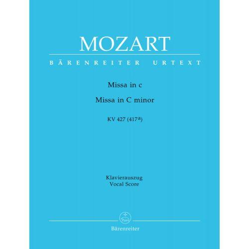 BARENREITER MOZART W.A. - MISSA IN C MINOR KV 427 (417A) - VOCAL SCORE