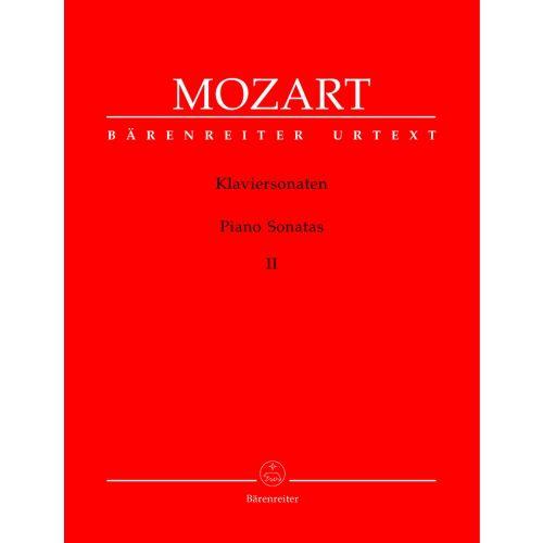 BARENREITER MOZART W.A. - PIANO SONATAS VOL.2