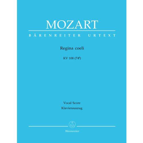 BARENREITER MOZART W.A. - REGINA COELI KV 108 (74D) - VOCAL SCORE