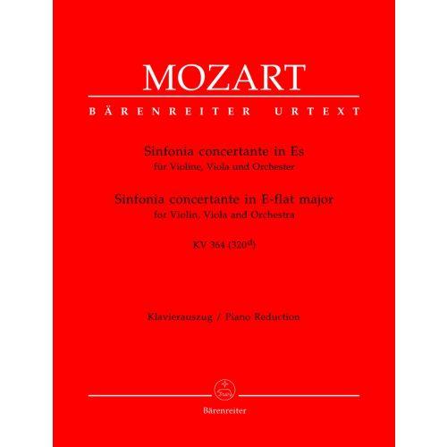 BARENREITER MOZART W.A. - MOZART W.A. - SINFONIA CONCERTANTE IN ES KV 364 (320D) - VIOLINE, VIOLA, KLAVIER