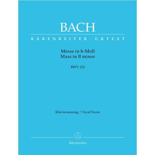 BARENREITER BACH J.S. - MASS IN B MINOR BWV 232 - VOCAL SCORE