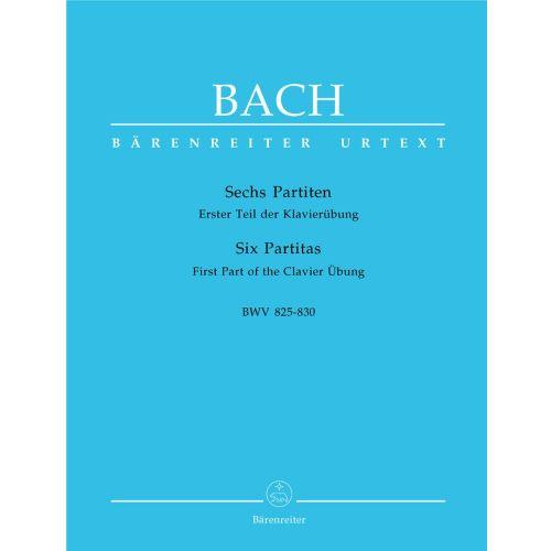 BARENREITER BACH J.S. - SIX PARTITAS BWV 825-830 - PIANO