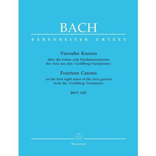 BARENREITER BACH J.S. - 14 KANONS BWV 1087
