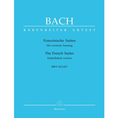 BARENREITER BACH J.S - FRANZOSISCHE SUITEN BWV 812-817 - CEMBALO