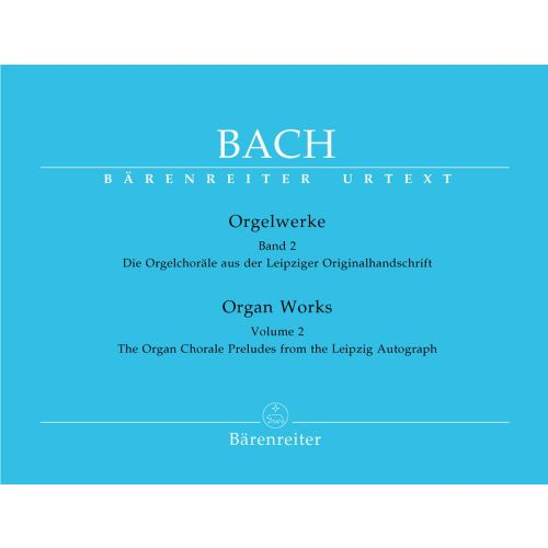 BARENREITER BACH J.S. - ORGAN WORKS VOL.2