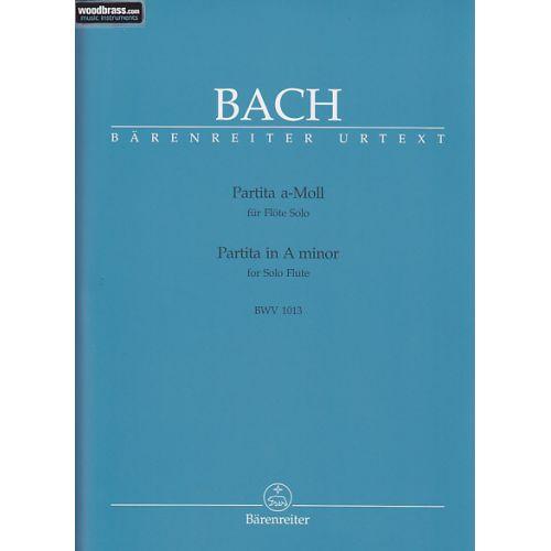 BARENREITER BACH J.S - PARTITA A-MOLL BWV 1013 - FLÖTE
